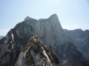 Hua Shan Top View