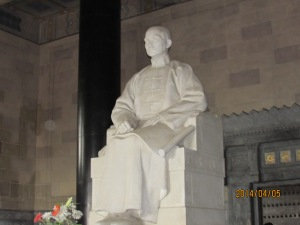 Sun Yat-Sen, Father of Modern Day China and leader of the Xinhai Revolution that overthrew the Qing.