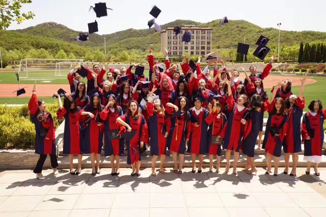 AudreyWang.Graduation1.JordanInChina